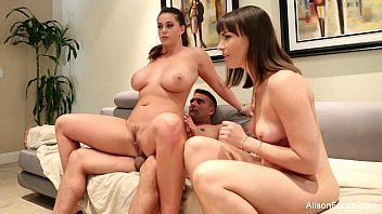 Hot Threesome Behind The Scenes