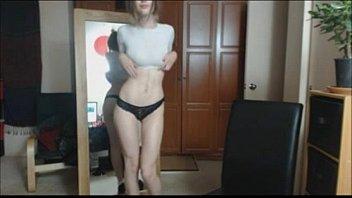 Teen with incredible hot body is dancing - bestcamsfree.com