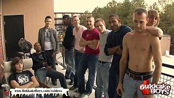 Bukkake Boys - Take it deep bukkake boy!