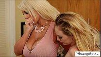 Ladies Lyra and Bridgette goes wild 69 pussy licking