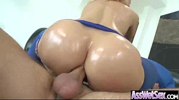 (anikka albrite) Big ass Olied Girl Real Love Anal Bang movie-07
