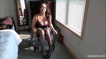 Wheelchair Porn - Be My Slave - Sexy Para
