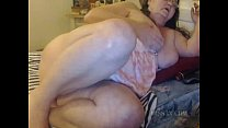 SSBBW granny is webcam super star