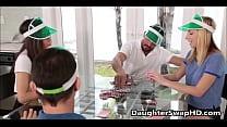 Poker Night Teen Daughter Swapping - DaughterSwapHD.com 6 min