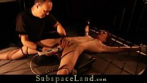 b. Fuck And No Mercy For Submissive Bondage Slave