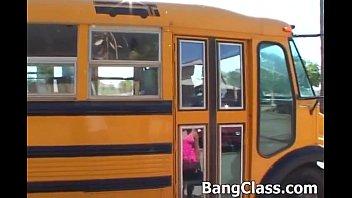 School bus driver fucking teen girl 5 min