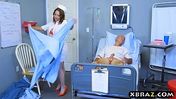 Big ass nurse beauty Lily Love rides patients big dick