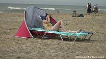 Dutch Teen Outdoor Beach Massage Fuck