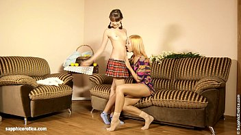 Flower Lovers Minerva and Liona engage in some hot lesbian sex by Sapphic Erotic