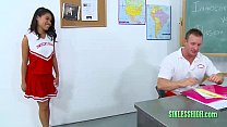Teenage Student Seducing Her Teacher