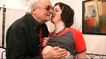 Amateur big tits girl banged and filmed on bed