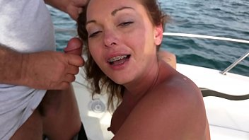 Wife giving a friend a blow job while four of us watch him bust his load on her 3 min