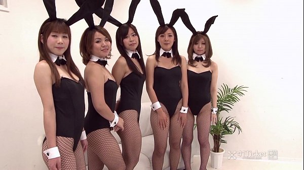 41Ticket - Japanese Bunny Orgy (Uncensored JAV)