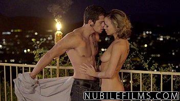 NubileFilms - Outdoor romance leads to hot fuck