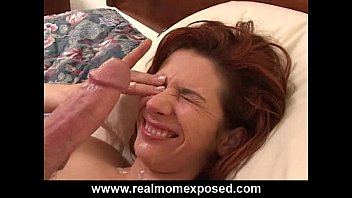 Busty Redhead Gets Her Mouth Fucked