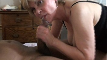Suck his fat cock until he blows in my mouth