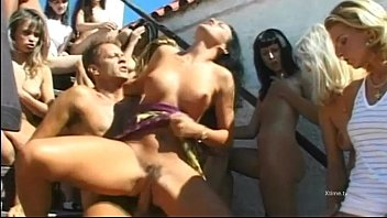 Dirty sexual orgy for enlashed whores