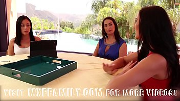 Step Daughters and Mom Fuck in 3some 29 min