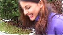 Two y. filmed in a POV blowjob scene