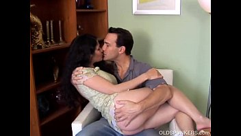 Lovely older latina is such a hot fuck and loves to eat cum