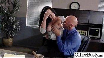 (jayden jaymes) Slut Girl With Big Round Tits Get Bang hard In Office mov-24