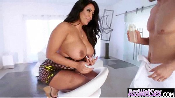 Oiled Big Butt Girl (kiara mia) Love And Enjoy Deep Anal Sex clip-14