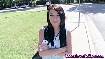 Amateur teen spunk soaked