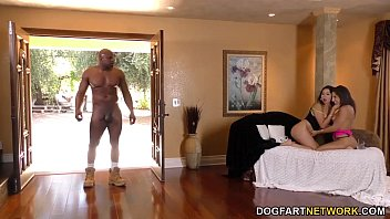 Abella Danger and Melissa Moore share a BBC in threesome