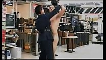 Caught stripping nude in a mall
