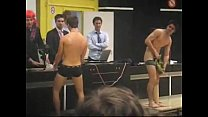hot dudes strip naked in public