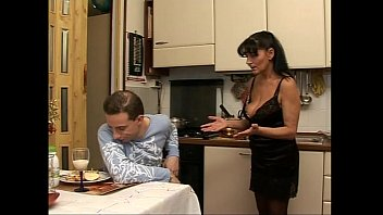 Forbidden sex in perverse family with a sexy milf