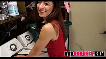 Fucking My Skinny Teen Step Daughter In Laundry Room