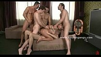 Prostitute dreams only gangbang sex