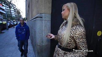 Massive tits tranny fucks big shaft