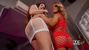 Sapphic Dildo Fun - Busty Babes Lick Pussies in Stripclub