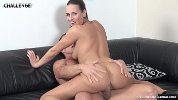 Mea Melone creampied by muscle guy Matt in her reality show 20 min