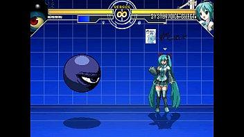Kuromaru vs. Miku Hatsune MUGEN
