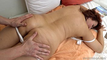 Granny got fucked after massage - Red Mary