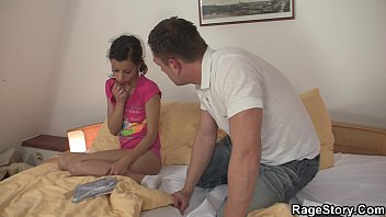 Extreme fucking from behind for girl in socks 6 min