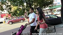 young latina mom big booty in leggings