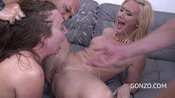 Maddy O'Reilley 1st DAP with AJ Applegate teaching her the Bitch tricks