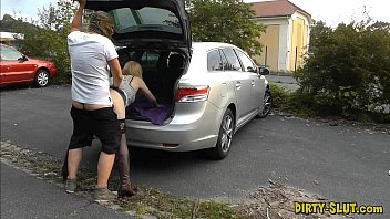 Young dogging wife fucked by lots of strangers 6 min