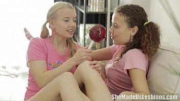 She Made Us Lesbians - Vasilisa loved the lollipops 7 min
