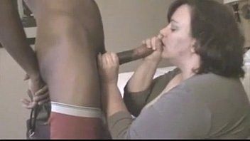 mature BBW fucks young black cock in hotel room while husband is away 14 min