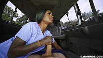 Lexxi Deep gets back into the business on the Bang Bus! (bb15795)