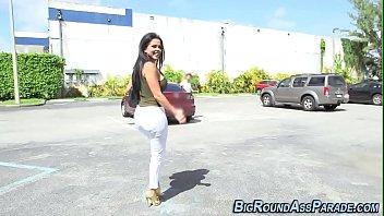Bubble butt latina licked