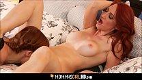 Mom Teaching Nerdy Daughter Lesbian Sex