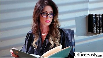 Office Big Tits Girl (Jessica Jaymes) Realy Love Hard Baning clip-24