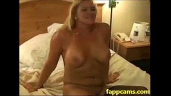 81-blonde slutwife takes double bbc creampie