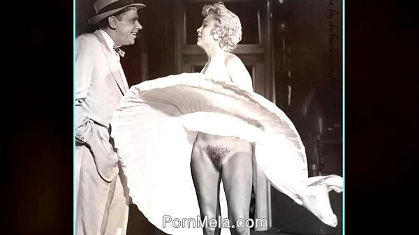 Famous Actress Marilyn Monroe Vintage Nudes Compilation Video